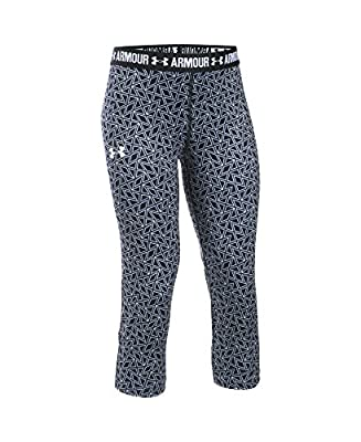 Under Armour Women's HeatGear Armour Printed Capri