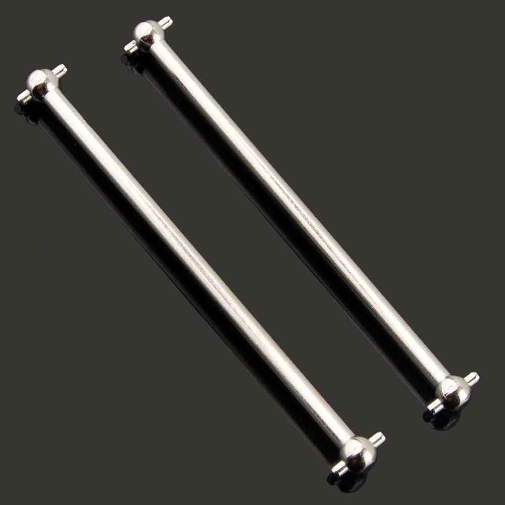 RC 08059 Silver Front//Rear Dogbone 89.5mm For HSP 1:10 Off-Road Buggy Truck