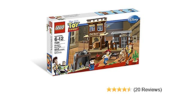 Amazon com: LEGO Toy Story Woody's Round Up (7594): Toys & Games