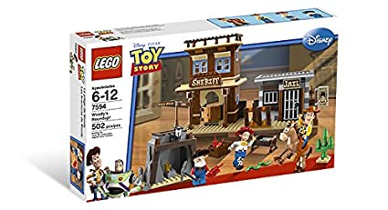 Amazon Com Lego Toy Story Woody S Round Up 7594 Toys Games