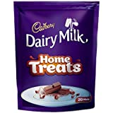 Cadbury Dairy Milk Chocolate Home Treats Pack, 140g  Pack of 20