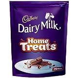 Cadbury Dairy Milk Chocolate Home Treats Pack, 140g (Pack of 20)