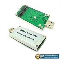 Micro SATA Cables USB 3.0 mSATA 3 SSD Adapter Card as a USB Disk Driver