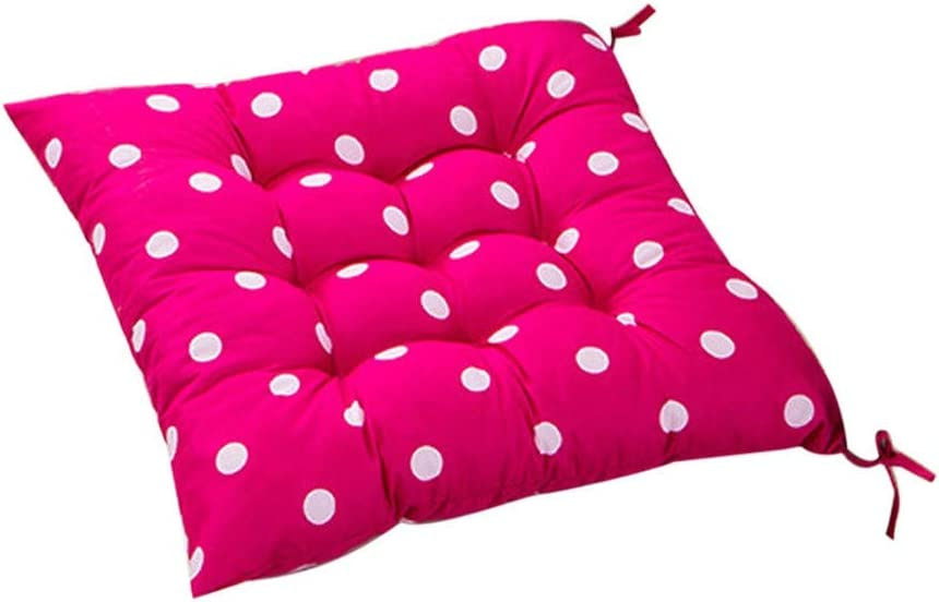 Crylee Chair Cushion Seat Pads Office Home Floor Mat Polyester Car Seat Pillow Pad Chair Seat Sofa Padded Coccyx Back Pain Covers Support Body for Garden Outdoor Dining Chairs B