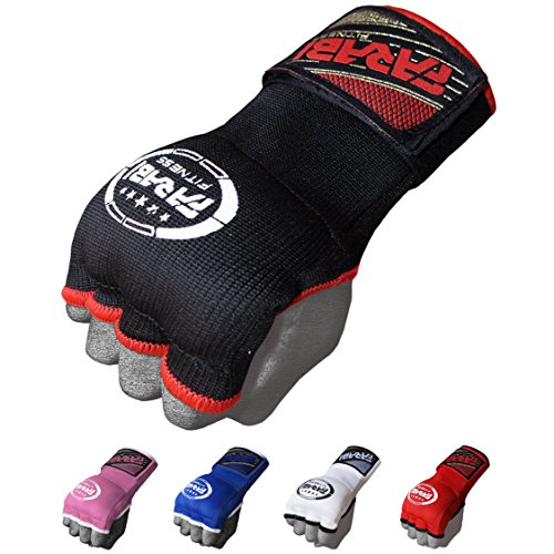 Farabi Hybrid Weight Lifting Gym Fitness Workout Inner Gloves Bar Grippers Boxing MMA Muay Thai Gym Workout hand wraps Gel inner gloves fingerless gloves bandages mitts hand protector. – DiZiSports Store