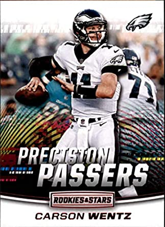 9c713a470d1 2018 Rookies and Stars Precision Passers #6 Carson Wentz Philadelphia  Eagles NFL Football Trading Card