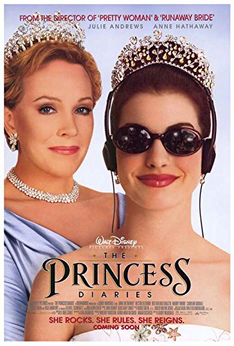 Image result for the princess diaries movie poster