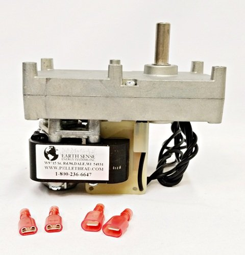 ENVIRO FIRE EF001 Pellet Stove Auger Feed Motor Envirofire 1 RPM CW Auger PH-CW1 by Enviro