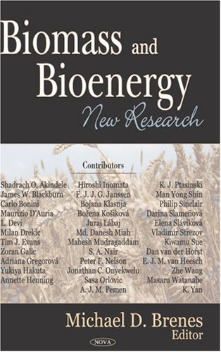 Download Biomass And Bioenergy: New Research ebook