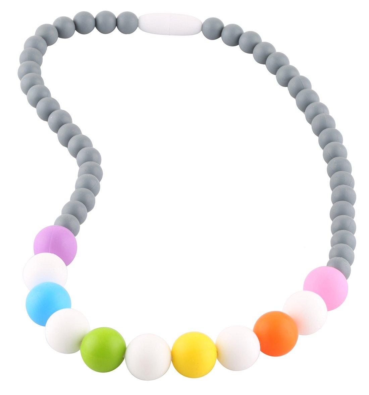 Pavel Chewable Teething Necklace for Teething Babies or Nursing Moms