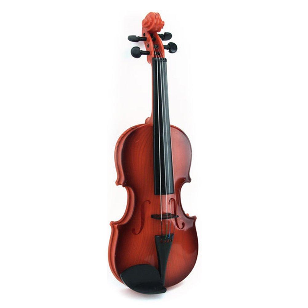 TOYANDONA Jouets en Plastique de Musique de Jouet de Violon pour Le Cadeau d'enfants Jouets éducatifs tôt