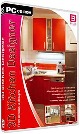 Arcon 3D Kitchen Designer (PC): Amazon.co.uk: Software