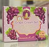 1 Set Grape Cream Beauty, Whitening, Skincare, Anti-Acne, Dark Spots, Blemish UV by jawnoy shop