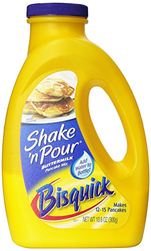 Bisquick Shake 'n Pour Buttermilk Pancake Mix (Pack of 3) 10.6 oz Bottles