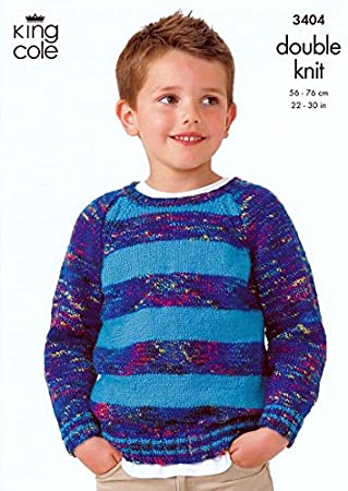 Amazon King Cole Boys Sweater Slipover Wicked Knitting