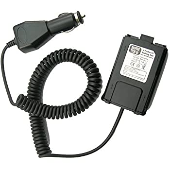 BaoFeng BL-5 12V Battery Eliminator for BF-F8HP, UV-5X3, and UV-5R Radios