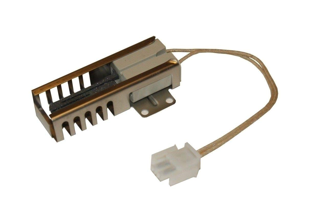 HASMX Gas Oven Flat Ignitor for Maytag Crosley Admiral Amana Ovens 5303935066 Replaces Parts# 74007498, 7432P075-60 Oven Igniters