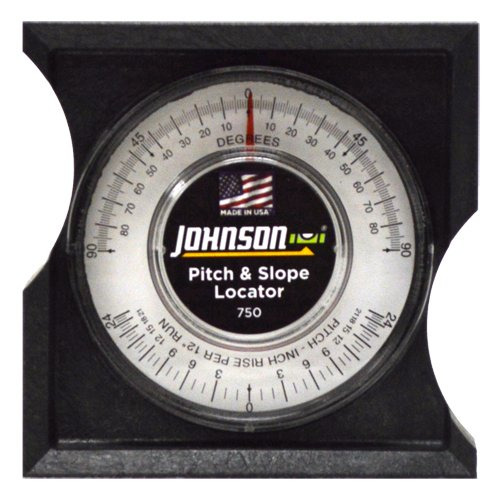 Johnson Level & Tool 750 Pitch and Slope Locator on white background.