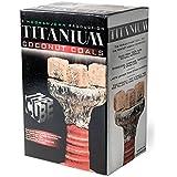 Titanium Coconut Coals - Cubes