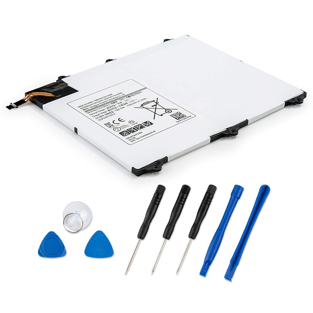 Bateria Tablet EB-BT567ABA para Samsung Tab E 9.6 XLTE SM-T5