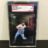 1996 Leaf Derek Jeter Signed Autographed Baseball Card SGC COA