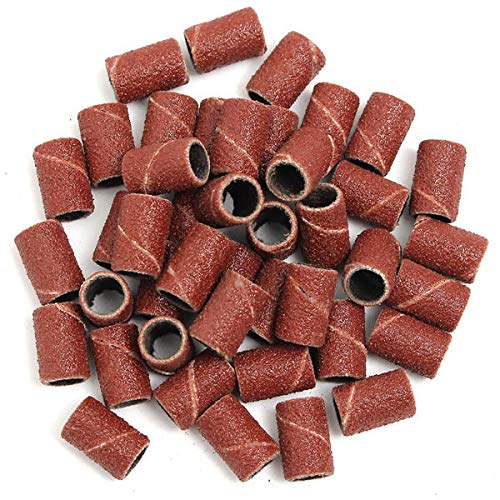 150pcs 80/120/180 Grit Sanding Bands Aabrasive Tool by Anddoa (Image #1)