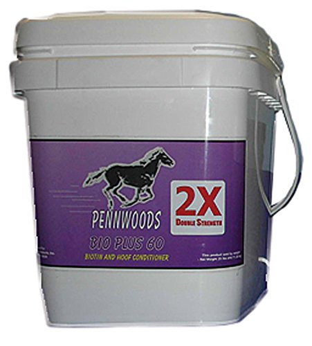 PENNWOODS EQUINE PRODUCTS 120897 2X Bio Plus 60 Double Strength Horse Supplement, 25 lb by Pennwoods Equine