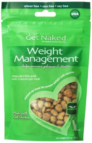 Get Naked Weight Management Crunchy Treats For Cats