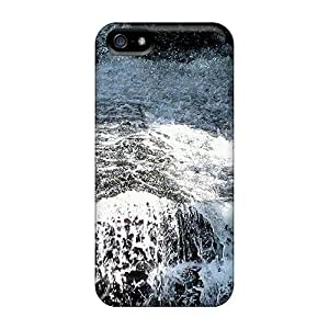 Iphone 5/5s Case Bumper Tpu Skin Cover For Waterfall Upclose Accessories