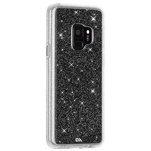best sneakers de5e0 c6985 Case-Mate - Samsung Galaxy S9 Case - SHEER CRYSTAL - Sparkle Effect -  Protective Design - Clear