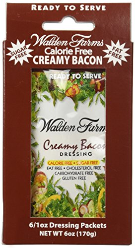 Walden Farms Ready To Serve Dressing Packets Creamy Bacon 6 oz - 6 Packets