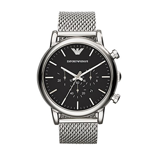 Emporio Armani Men's AR1808 Dress Silver Watch ()