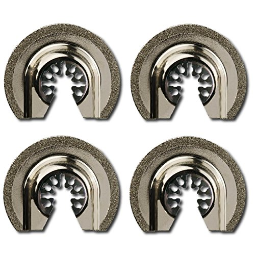 Integra Tools Platinum Series Blades P4DIA2.5 Semi-Round Flush Cut Universal Oscillating 2-1/2