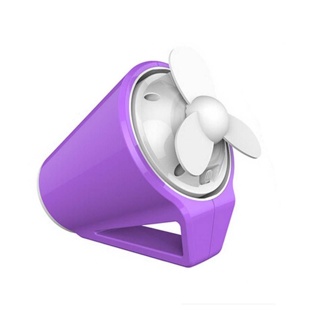 Blancho Portable Hand-held Mini Cup Shape USB Fan Creative Fan, Purple Blancho Bedding
