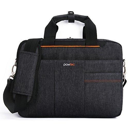 """Pawtec Briefcase Slim Messenger Bag for Macbook Retina / Air / Notebooks, 13.3"""""""