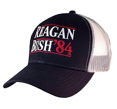 reagan-bush-84-campaign-adult-trucker-hat-navy