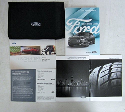 2018 Ford Fusion Hybrid Energi Owners Manual Guide Book Set With Case
