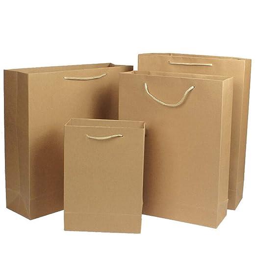 CHAO Bolsas de Papel 12x4.75x17.5, 10 Piezas de Bolsas de ...