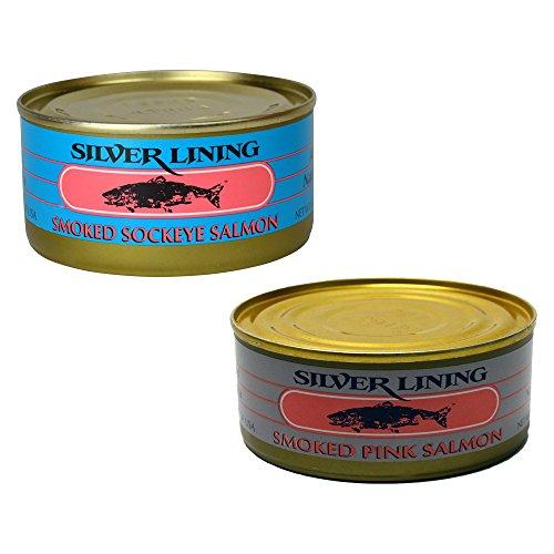 Smoked Salmon Packs - 4