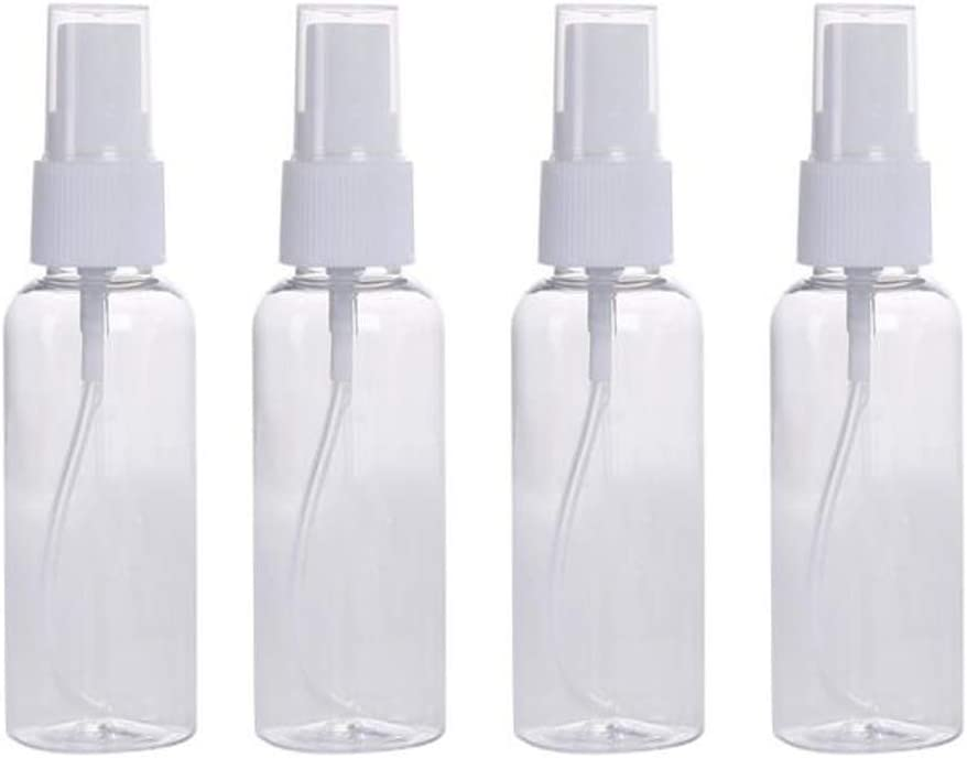 10Pcs 30ml Clear Empty Spray Bottles
