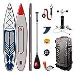 grandtoursportscom-Tavola-gonfiabile-per-SUP-Stand-Up-Paddle-Board-e-paddle-77-x-396-x-14-cm-340-l-fino-a-110-kg-con-set-di-accessori