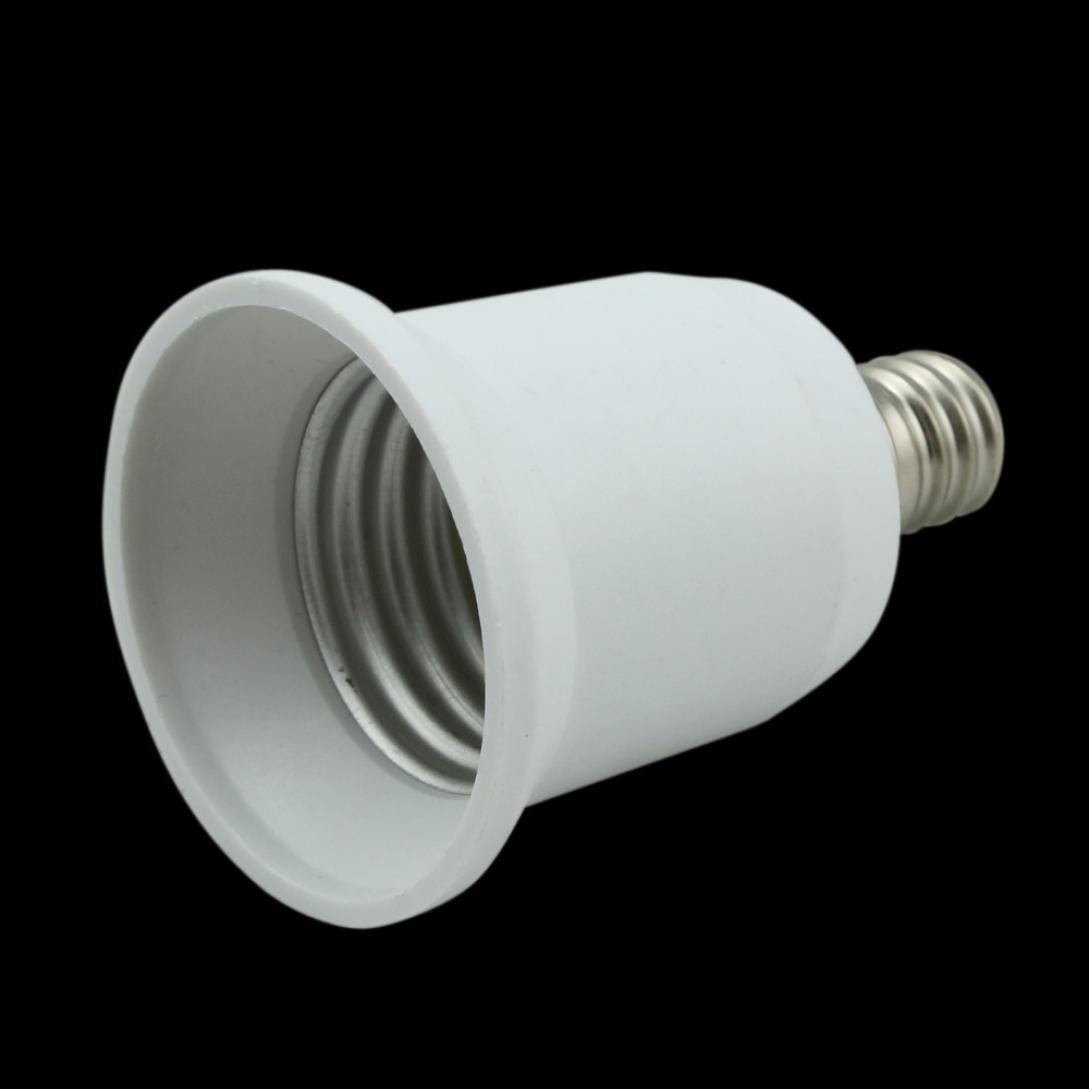LiPing E40 to E27/E27 to 2XE27A/E12 to E27/E17 to E27 /E27 to E17 Adapter Light Bulb Lamp Socket Converter (E12 to E27)