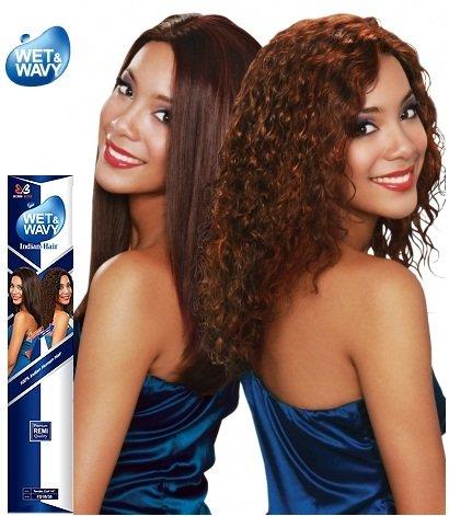 Midway Bobbi Boss 100% Indian Human Hair Wet & Wavy Weave...