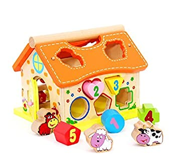 5f1b082c5b0c Kids Baby Children Educational Toys Wooden Building Block Toddler toys for  2 3 4