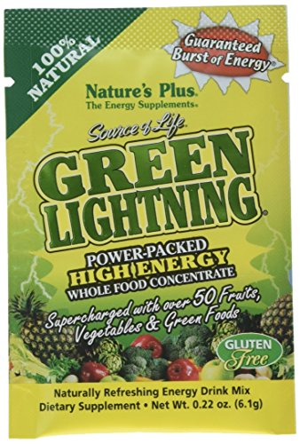 Nature's Plus - Source of Life Green Lightning Energy Drink - 20 (Lightning Energy Drink)