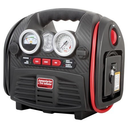 PowerStation PSX-3 18Ah Jumpstarter with Air Compressor and DC Outlet and USB Port - New Model 2013 (Air Compressor Jumper)