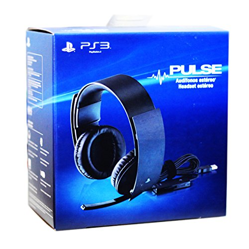 Sony Playstation 3 Pulse Wired Stereo Headset (Spanish packaging) (Sony Pulse Elite)