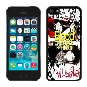 Blood on The Dance Floor(1) Black iPhone 5C Phone Case Genuine Custom Cover