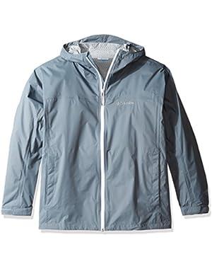 Men's Big-Tall Evapouration Jacket, Grey Ash, 2X