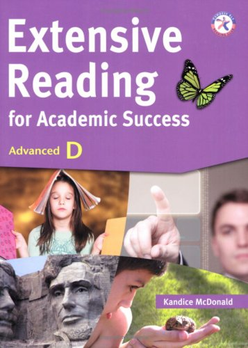 Extensive Reading for Academic Success, Advanced D (University Level; Topics on The Classics & World Literature, Ame
